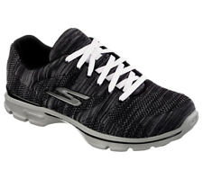 NEU SKECHERS Damen Fitness Sneakers Turnschuh Sportschuh GO WALK 3 CONTEST black