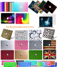"3in1 Rubberized Hard Case Cover For Apple Macbook Air Pro Retina 11""13""15""12"""