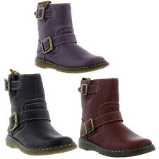 Dr Martens Gayle Womens Leather Pull On Ankle Boots UK 3 & 4
