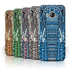 STUFF4 Phone Case/Back Cover for HTC One ME /Aztec Animal Design