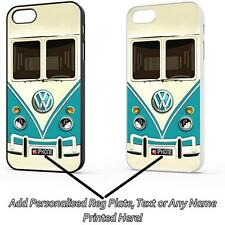 TEAL GREEN VW CAMPER VAN CASE COVER FOR IPHONE 4 IPHONE 5 IPHONE 6 IPHONE 6 PLUS