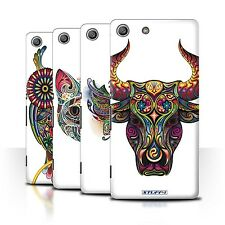 STUFF4 Phone Case/Back Cover for Sony Xperia M5 /Ornamental Animals