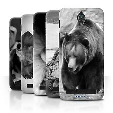 STUFF4 Phone Case/Back Cover for Asus Zenfone C ZC451CG /Mono Zoo Animals