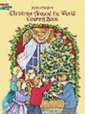 CHRISTMAS AROUND THE WORLD COLORING BOOK - JOAN O'BRIEN (PAPERBACK) NEW
