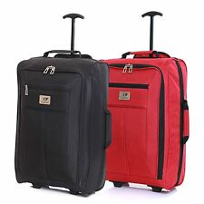 Ryanair Easyjet 55 cm Cabin Approved Flight Trolley Suitcase Luggage Case Bag