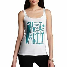 Twisted Envy Women's Tools of Mass Construction Organic Cotton Tank Top