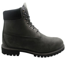 Timberland Earthkeepers 6 Inch Premium Mens Boots Grey Leather 6609A U63