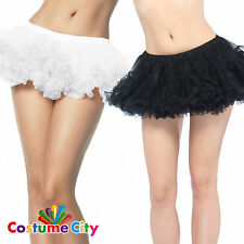 Adult's Women's Leg Avenue Puffy Chiffon Mini Petticoat - Choose A Colour