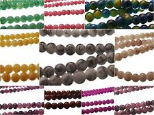 240+ Spray Painted Drawbench Glass Round Beads 4mm 32'' Strand RANGE OF COLOURS