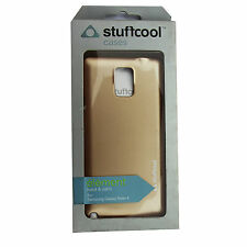 Stuffcool brand High Quality Leather Finish Back Case  for Samsung Galaxy Note 4