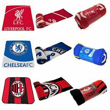 FOOTBALL FLEECE BLANKETS BOYS VARIOUS TEAMS