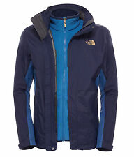 The North Face Men's Evolution II Triclimate Jacket, cosmic blue, 3-in-1-Jacke