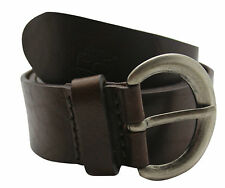 Timberland Womens Cow Leather Belt Brown (M2598 968) R5