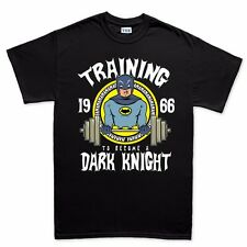 Training To Become Dark Knight Gym Fitness Running Body Building T shirt Tee Top