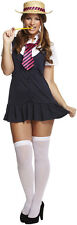 Sexy School Girl St Trinians Plus Size Fancy Dress Costume Outfit Size 12 - 18