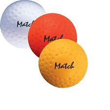 Grays Match Hockey Ball White Yellow Orange Training Practice Dimple Ball 5.5oz