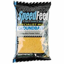 (0,40€/100g) Spro Cresta Speedfeed Groundbait Competition Feeder Grundfutter Ang