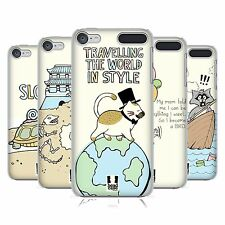 HEAD CASE DESIGNS WORLD TRAVELLER HARD BACK CASE FOR APPLE iPOD TOUCH MP3
