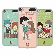 HEAD CASE DESIGNS ALL ABOUT LOVE SOFT GEL CASE FOR APPLE iPOD TOUCH MP3
