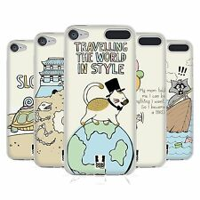 HEAD CASE DESIGNS WORLD TRAVELLER SOFT GEL CASE FOR APPLE iPOD TOUCH MP3