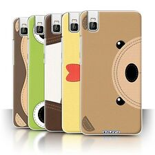 STUFF4 Phone Case/Back Cover for Huawei Honor 7i/ShotX /Animal Stitch Effect