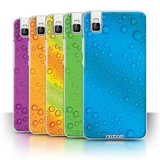 STUFF4 Phone Case/Back Cover for Huawei Honor 7i/ShotX /Water Droplets
