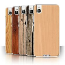 STUFF4 Phone Case/Cover for Huawei Honor 7i/ShotX /Wood Grain Effect/Pattern