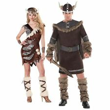 Adult Viking Couples Costume Idea Ladies Barbarian or Mens Viking Warrior