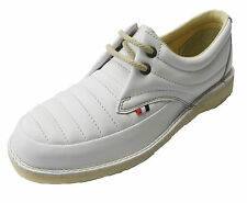 Pod Heritage White Jagger Retro Mod leather Shoes