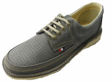 Pod Heritage Grey Gallagher Retro Mod leather Shoes