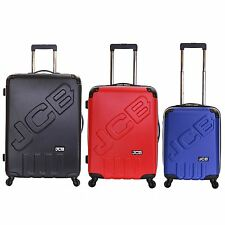 JCB Hard Side ABS Travel 4 Spinner Wheels Trolley Luggage Suitcase Case Bag