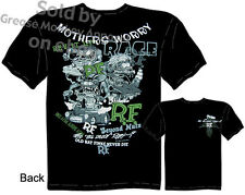 Ed Roth Rat Fink T Shirt Big Daddy T Shirt Mothers Worry Collage Hot Rod Wear