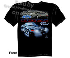 Mustang T Shirts Ford Shirt Mustang Apparel Muscle Car Clothing Blue Oval Tee