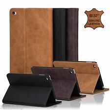32nd Premium Genuine Italian Leather Stand Book Case for Apple iPad Tablets