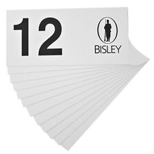 BISLEY GUN STAND MARKER PEG STAND NUMBERS PHEASANT SHOOTING 1-12 NUMBERED