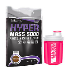 Biotech USA Hyper Mass 5000  1000g Bio Tech Weight Gainer + Ladyline Shaker