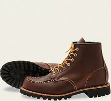 Red Wing  Mens Boots 8146 Moc Toe Heritage Work Briar Oil Slick