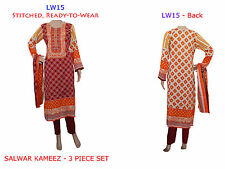 LW15 Ready Made Stitched Shalwar Kameez Dress Pakistani Indian Asian Bollywood