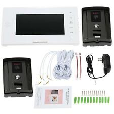 "Hot 7""LCD Color Video Door Phone Doorbell Home Intercom System Touch Key A3R7"