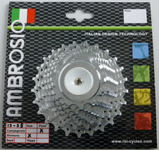 AMBROSIO 11 SPEED ROAD RACING BIKE CASSETTE SHIMANO AND/OR CAMPAGNOLO COMPATIBLE