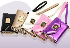 Deiking Enamel, PU Leder Schutz Hulle Handy Tasche Case Cover/ Apple iPhone 4S/4