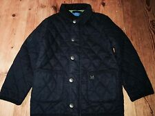 CREW CLOTHING Quilted Linen/ Cotton Jacket Coat Age 7,  8 - 9 RRP£42 FreeUKP&P