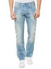 NEU REPLAY HOSE HERREN JEANS STRAIGHT LEG M983 953 760 011 WAITOM BLAU BLUE MEN