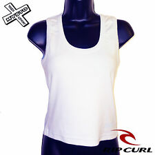 RIP CURL 'VIETNAM TANK' WOMENS VEST T-SHIRT SKY BLUE MEDIUM UK 10 BNWT RRP £15