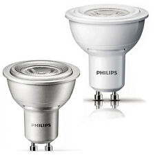 Philips 4W=35W GU10 Warm White Non-Dimmable and Dimmable LED's Spot Light Bulb