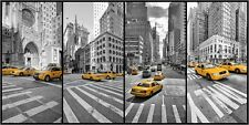 Poster / Leinwandbild New York Cab Collage - Marcus Klepper