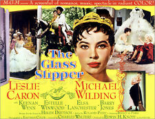 Poster / Leinwandbild THE GLASS SLIPPER, Leslie Caron (with crown), 1955