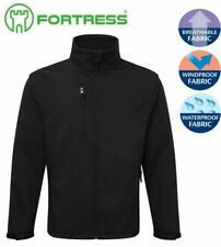 Fortress Selkirk Soft Shell Fleece Water Resist Windproof Thermally Lined Jacket