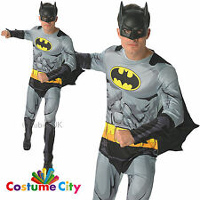 Adult Mens Officially Licensed DC Comic Book Batman Fancy Dress Party Costume