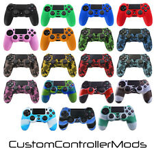 Extreme Grip Pro Camouflage Silicone Rubber Case Cover Skin for PS4 Controller